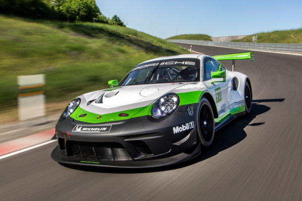 Neuer Porsche 911 GT3 R präsentiert