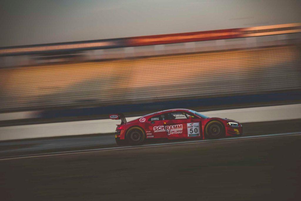 DMV GTC Hockenheim Phoenix Racing Audi R8 LMS Vincent Kolb