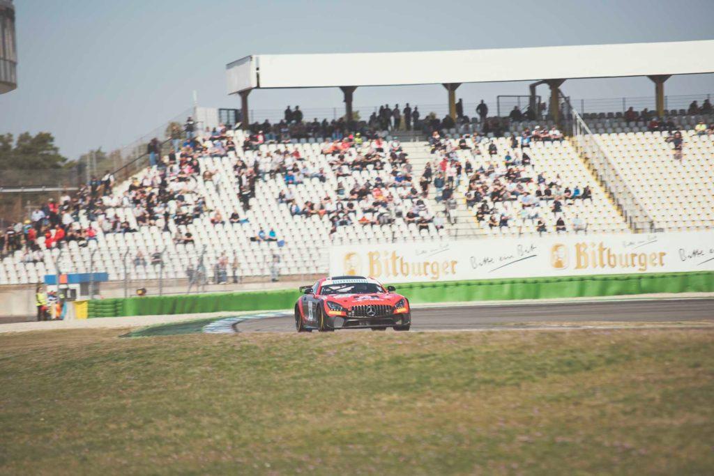 DMV GTC Hockenheim Leipert Motorsport Mercedes AMG GT4 Yury Wagner