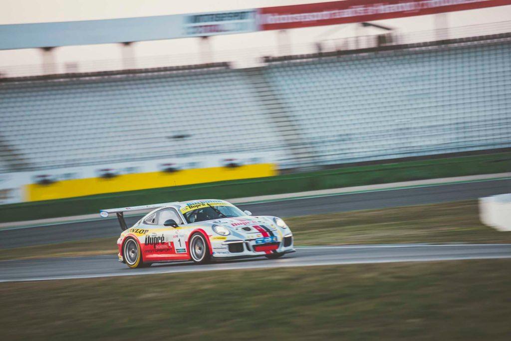 DMV GTC Hockenheim Dupré Motorsport Porsche 911 GT3 Cup Wodan Munding/Claus Dupré