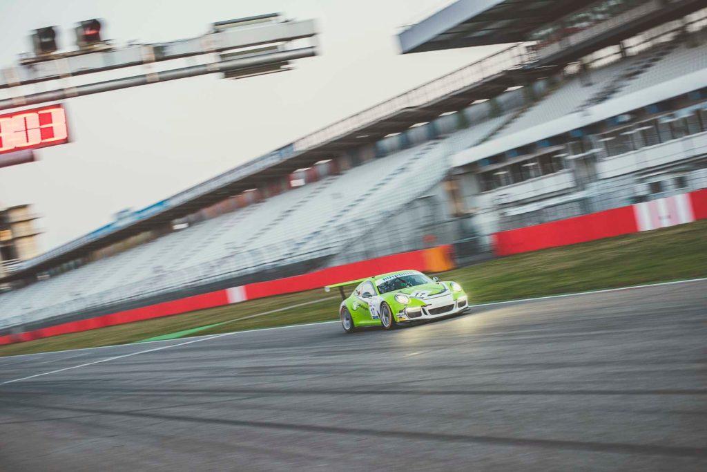 DMV GTC Hockenheim Schrodl machts Porsche 911 GT3 Cup Christof Langer
