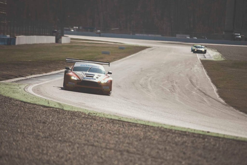 DMV GTC Hockenheim Aston Martin Vantage Timo Scheibner