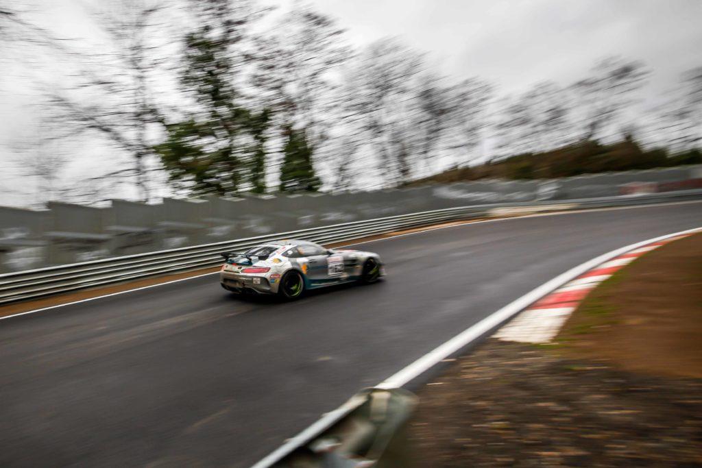 Black Falcon Mercedes AMG GT4