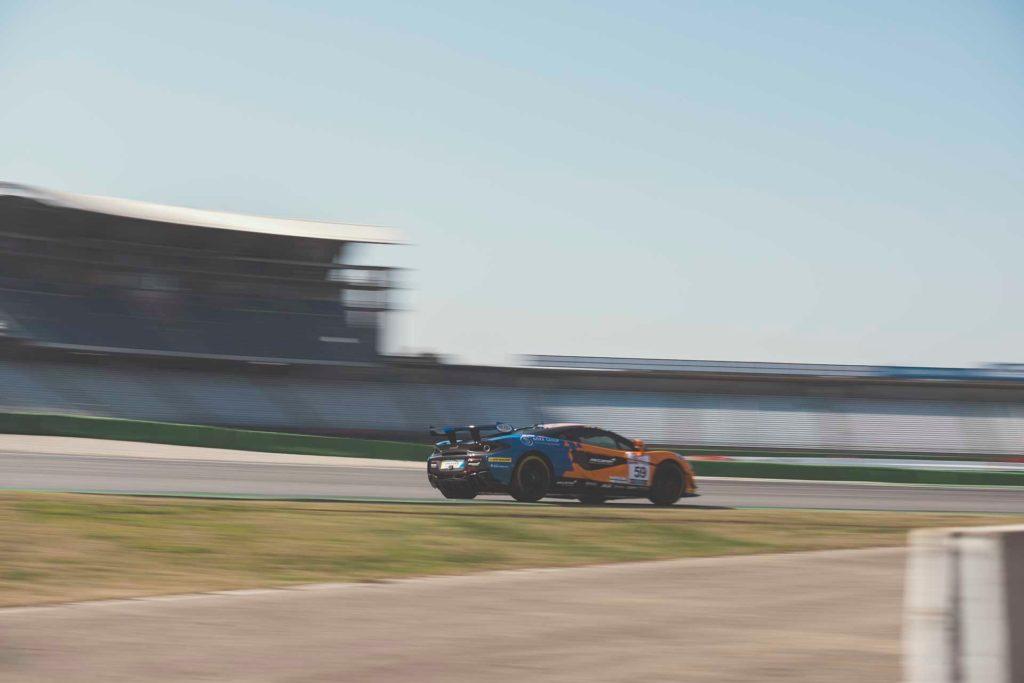DMV GTC Hockenheim Dörr Motorsport McLaren 570S GT4 Phil Dörr/Jaap Bartels