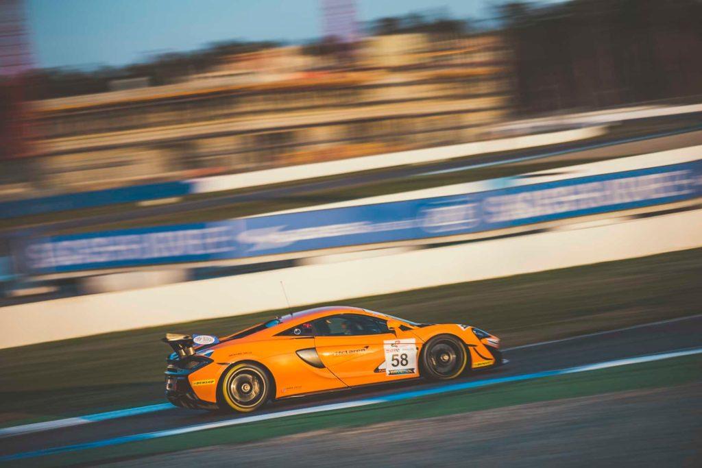 DMV GTC Hockenheim Dörr Motorsport McLaren 570S GT4 Klaus Halsig/Bradley Ellis