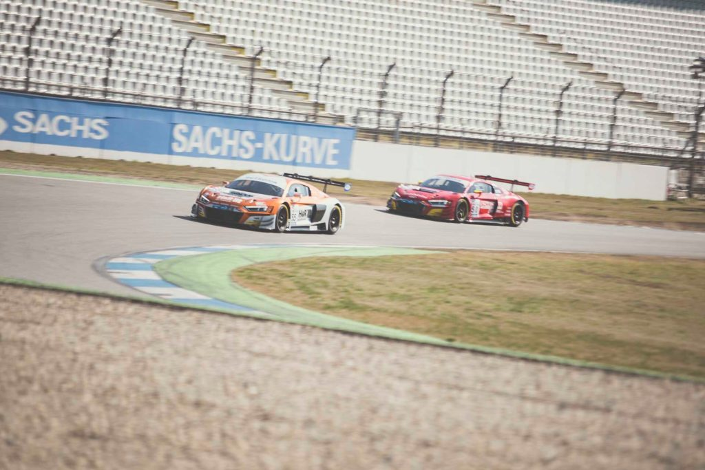 DMV GTC Hockenheim Phoenix Racing Audi R8 LMS Vincent Kolb Spirit Race Team Uwe Alzen Automotive Audi R8 LMS uwe Alzen/Dietmar Haggenmüller