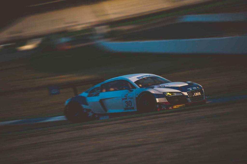 DMV GTC Hockenheim HCB-Rutronik Racing Audi R8 LMS ultra Jay Boyd/Happy Behler
