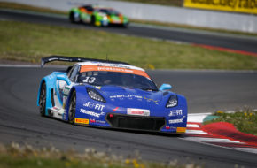 Sven Barth/David Jahn RWT Racing Corvette C7 GT3 ADAC GT Masters