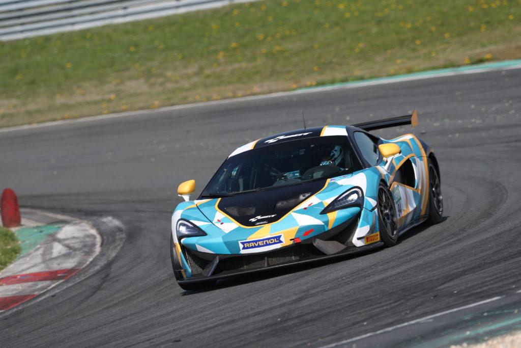 Felix von der Laden TeamGT McLaren 540S GT4 ADAC GT4 Germany