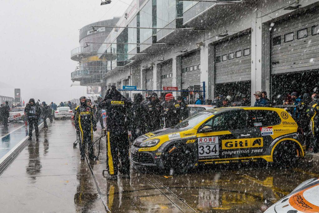 Giti Tire Motorsport by WS Racing VW Golf Ullrich Schmidt/Ralf Lammering/James Breakell