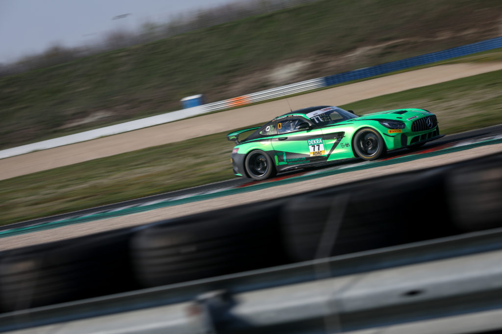 Tim Heinemann/Luke Wankmüller HP Racing Mercedes AMG GT4 ADAC GT4 Germany