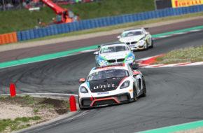 Hendrik Still/Horst Hadergasser KÜS Team75 Bernhard Porsche Cayman ADAC GT4 Germany
