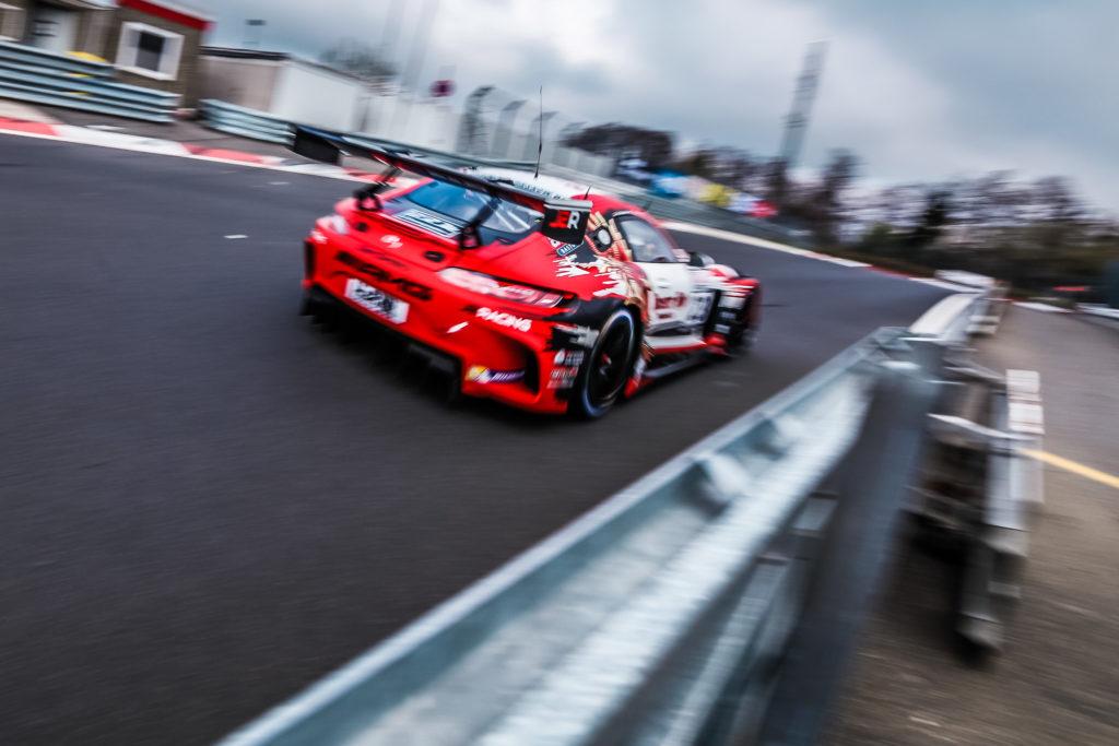 GetSpeed Performance Mercedes AMG GT3 Janine Hill/John Shoffner/Fabian Schiller