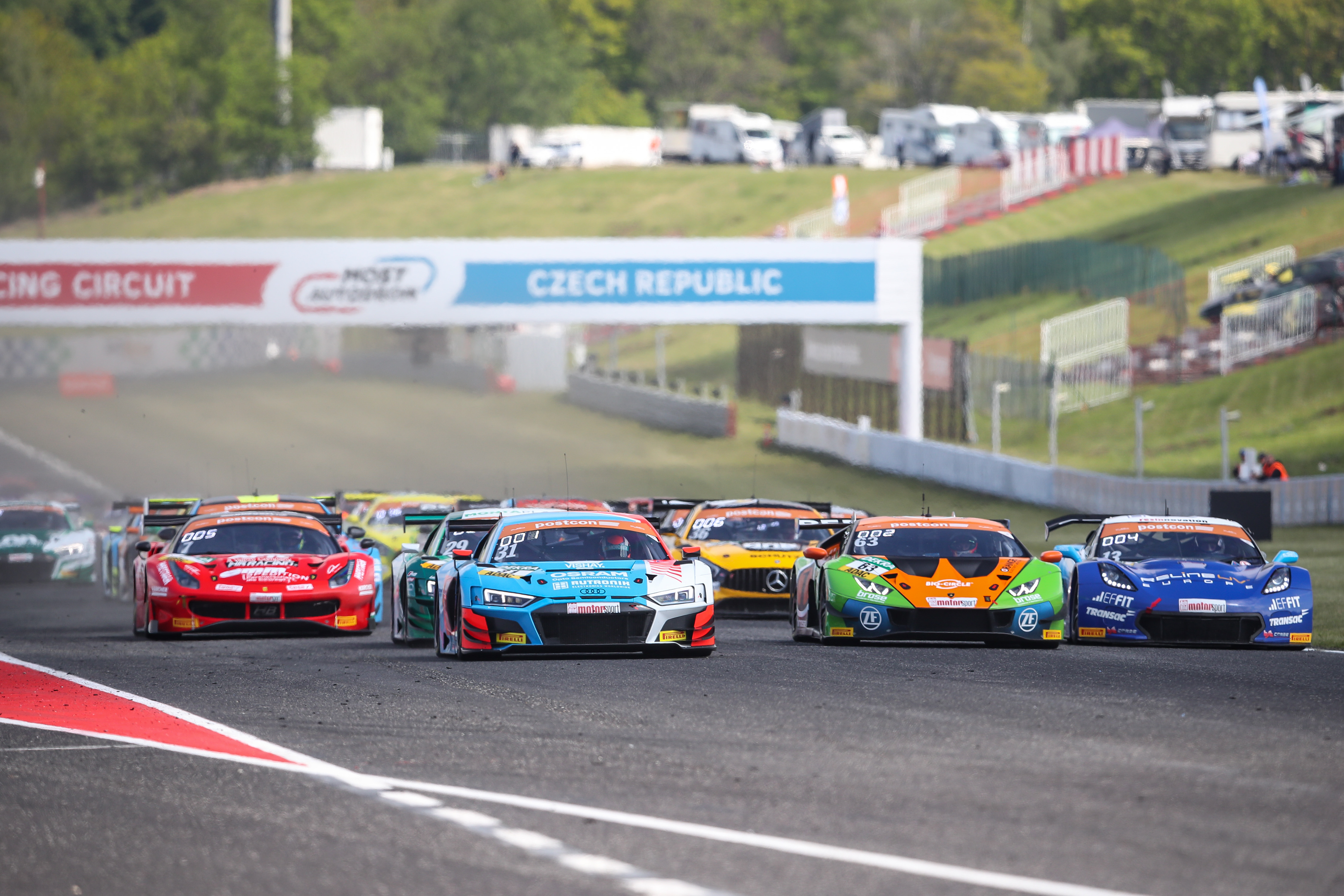 ADAC GT Masters Most 2019