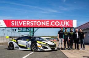 Jenson Team Rocket RJN Honsa NSX GT3 Evo Jenson Button, Struan Moore, Philipp Frommenwiler