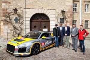 Tim Reiter Audi Sport Seyffarth R8 LMS Cup