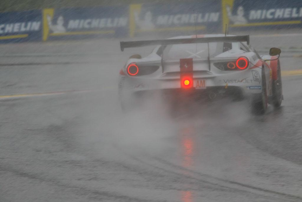 Thomas Flohr/Francesco Castelacci/Fiancarlo Fisichella Spirit of Race Ferrari 488 FIA WEC