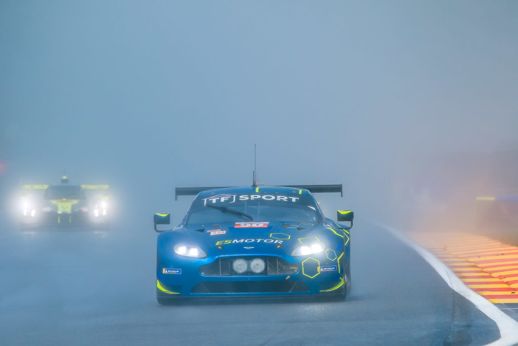 Salih Yoluc/Euan Hankey/Charlie Eastwood TF Sport Aston Martin Vantage FIA WEC