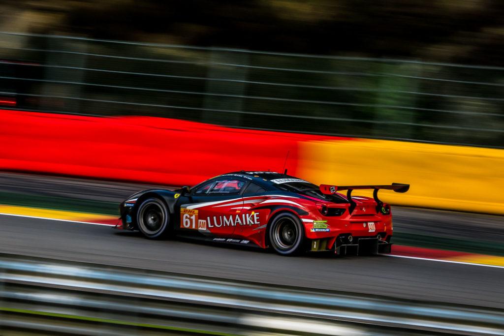 Luis Perez Companc /Matteo Cressoni/Matt Griffin Clearwater Racing Ferrari 488