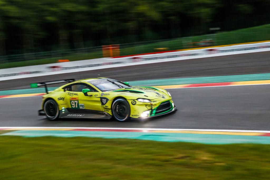 Alex Lynn/Maxime Martin Aston Martin Racing Aston Martin Vantage FIA WEC