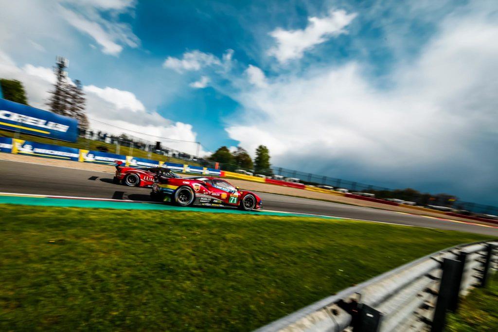 Davide Rigon/Sam Bird AF Corse Ferrari 488 FIA WEC