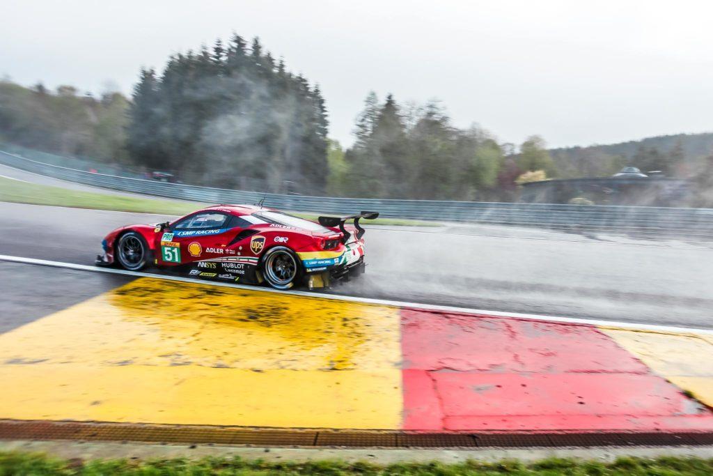 Alessandro Pier Guidi/James Calado AF Corse Ferrari 488 FIA WEC