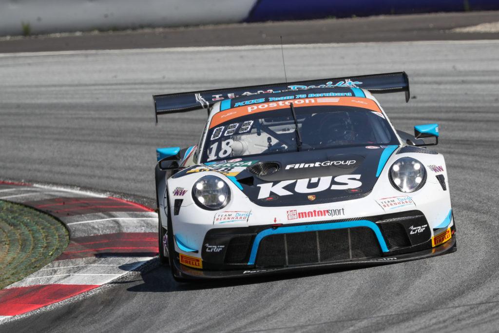 Adrien de Leener/Matteo Cairoli KÜS Team75 Bernhard Porsche 911 GT3 R ADAC GT Masters Red Bull Ring