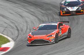 Florian Thoma/Jérémie Lesoudier PROpeak Performance Aston Martin Vantage GT4 ADAC GT4 Germany Red Bull Ring