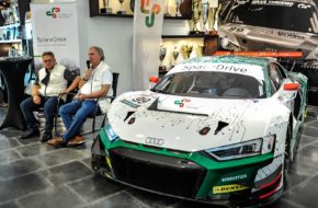 "Präsentation Audi R8 LMS mit ""Steer-by-Wire""-Technologie"