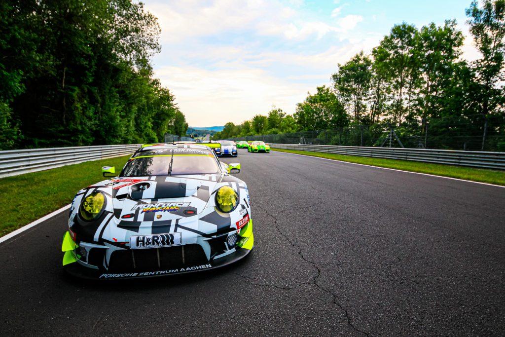 Jan-Erik Slooten Lucas Luhr Steve Jans Adrien de Leener IronForce Racing Porsche 911 GT3R 24h Nürburgring