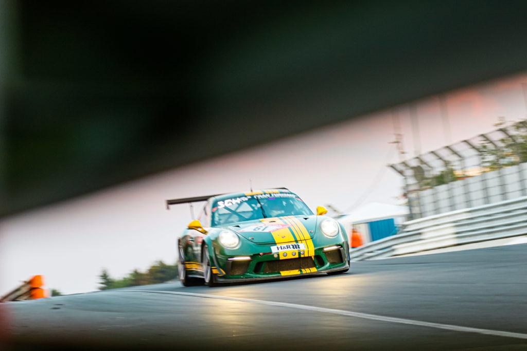 Tim Scheerbarth Ralf Oehme Georg Goder Martin Schlüter 9und11 Racing Porsche 911 GT3 Cup 24h Nürburgring