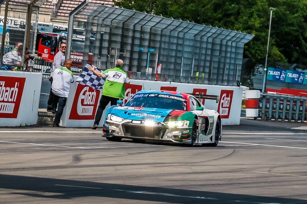 Frédéric Vervisch, Dries Vanthoor, Frank Stippler Pierre Kaffer Audi Sport Team Phoenix Audi R8 LMS 24h Nürburgring