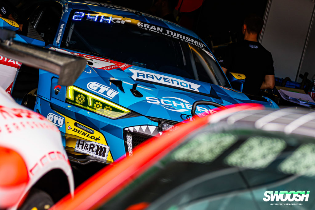 Jeroen Bleekemolen Vincent Kolb Frank Stippler Kim Luis Schramm Phoenix Racing Audi R8 LMS 24h Nürburgring