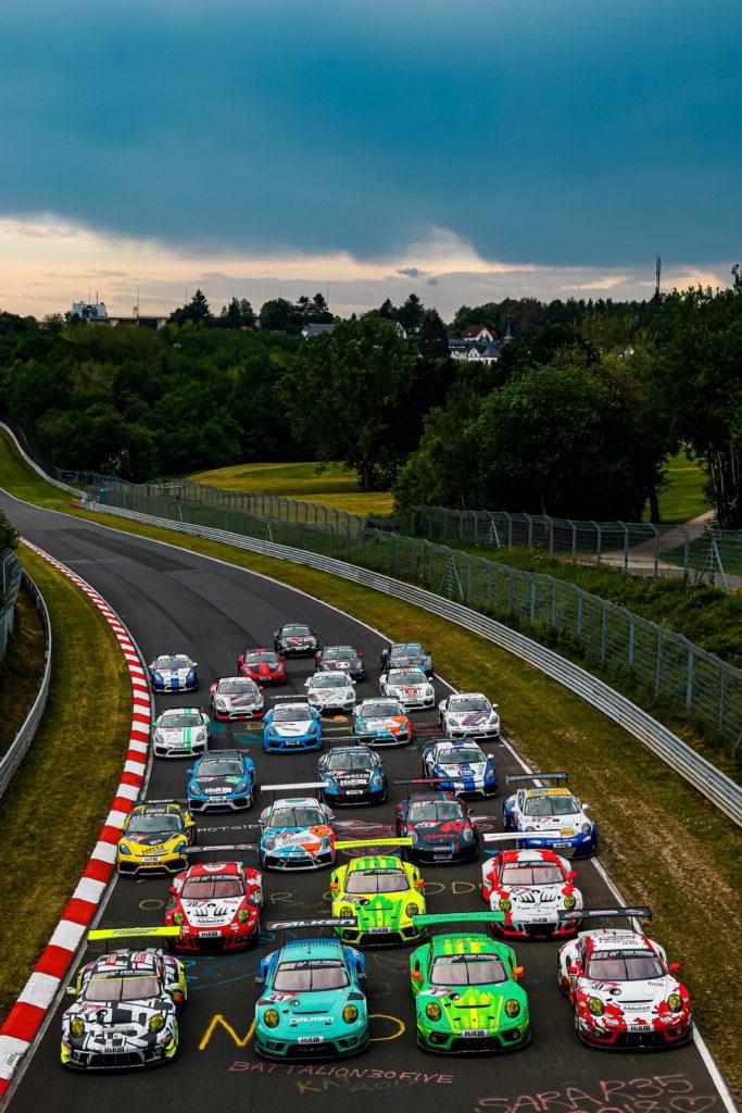 Porsche Gruppenfoto
