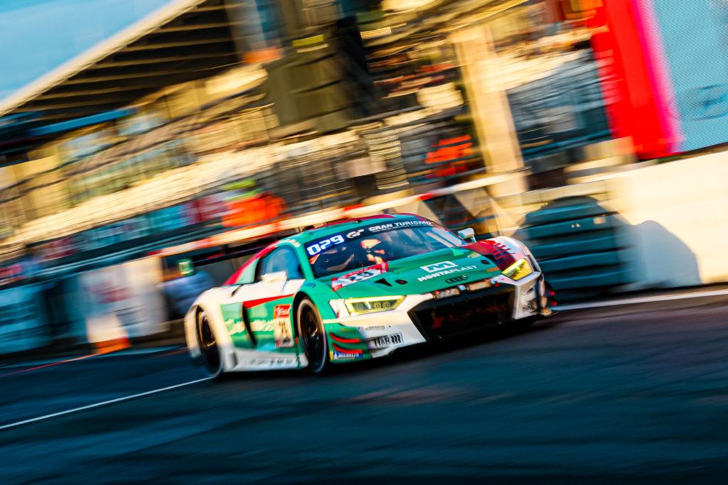 René Rast, Christopher Mies, Christopher Haase Kelvin van der Linde Audi Sport Team Land Audi R8 LMS 24h Nürburgring