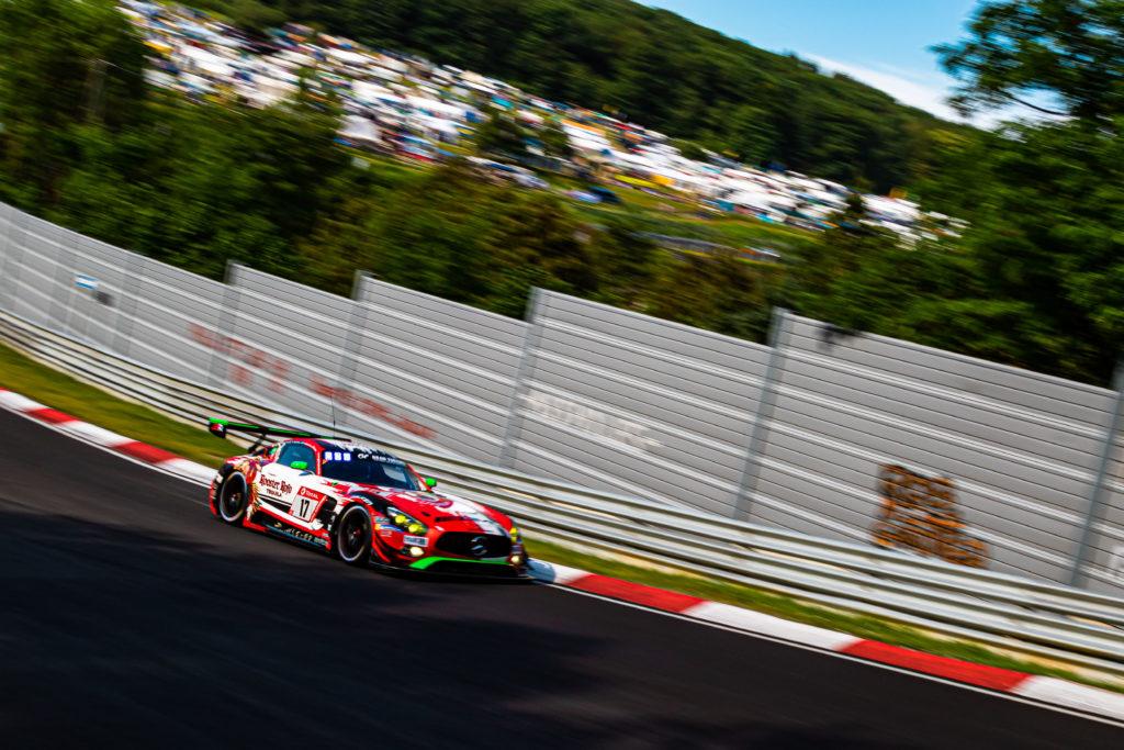 Janine Hill John Shoffner Fabian Schiller Markus Palttala GetSpeed Performance Mercedes AMG GT3 24h Nürburgring