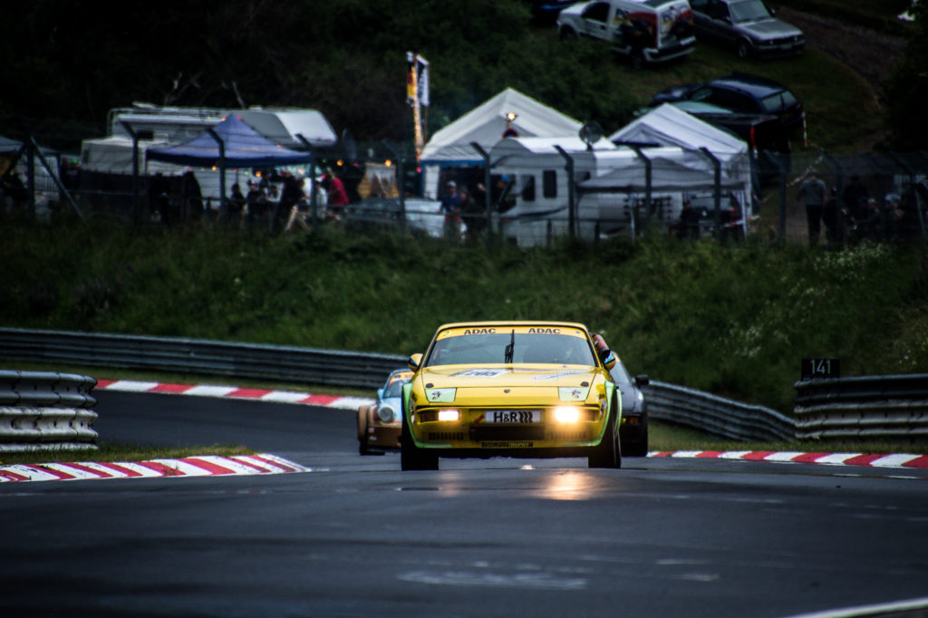 Werner Gloyna Carsten Ohlinger 24h Classic Youngtimer Trophy Porsche 924