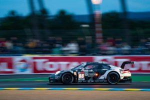 Matteo Cairoli, Satoshi Hoshino Giorgio Roda Dempsey - Proton Racing Porsche 911 RSR 24h Le Mans