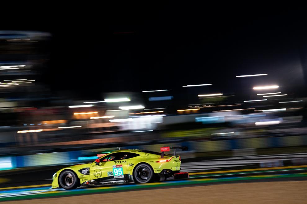 Marco Sörensen Nicki Thiim Darren Turner Aston Martin Racing 24h Le Mans WEC Aston Martin Vantage GTE