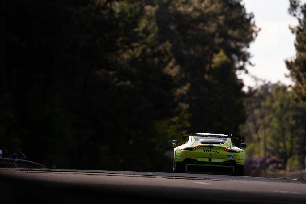 Alex Lynn Maxime Martin Jonathan Adam Aston Martin Racing 24h Le Mans WEC Aston Martin Vantage GTE