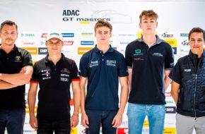 ADAC GT Masters Gottfried Grasser, Mick Wishofer, Pierre Kaffer, Max Hofer, Klaus Bachler