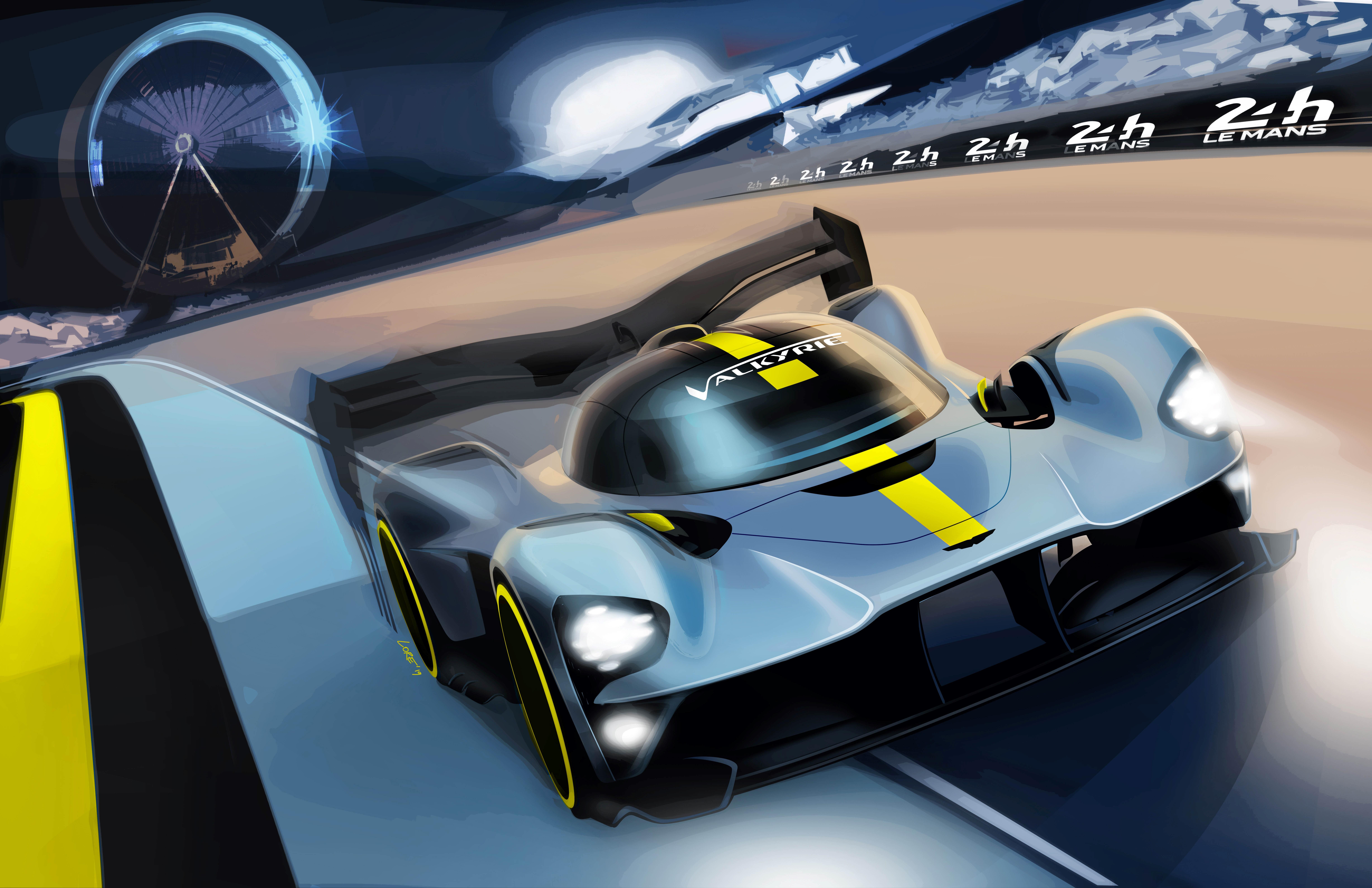Fia Wec Aston Martin Valkyrie Ohne Hybridantrieb Gt Place Com