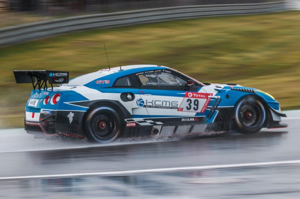 Nico Menzel Edoardo Liberati Christer Jöns Matthieu Vaxiviere KCMG Nissan GT-R GT3 24h Nürburgring