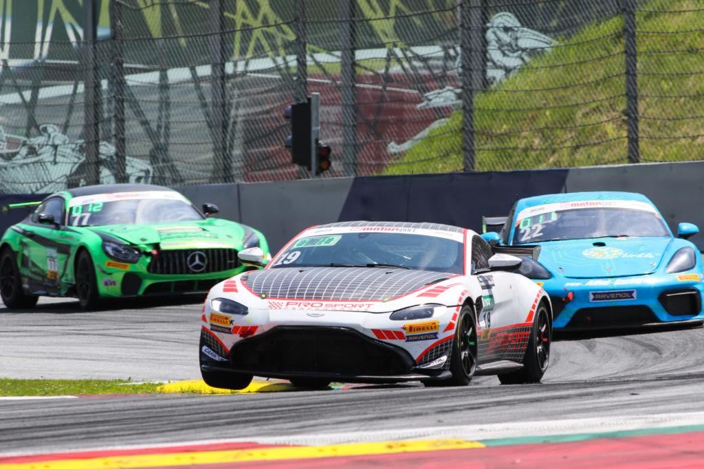 Jörg Viebahn Joonas Lappalainen PROpeak Performance ADAC GT4 Germany Aston Martin Vantage GT4 Red Bull Ring