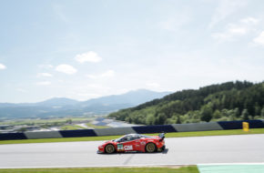 Luca Ludwig Sebastian Asch HB Racing Ferrari 488 GT3 ADAC GT Masters Red Bull Ring