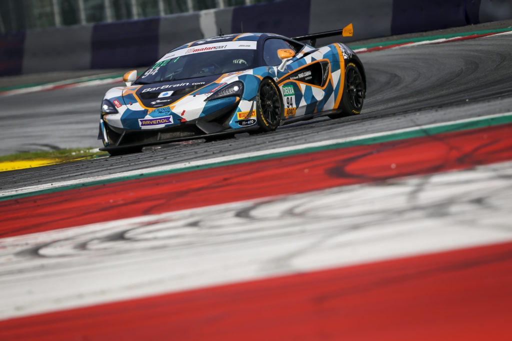 Felix von der Laden Alain Valente Team GT McLaren 570S GT4 Team GT ADAC GT4 Germany Red Bull Ring