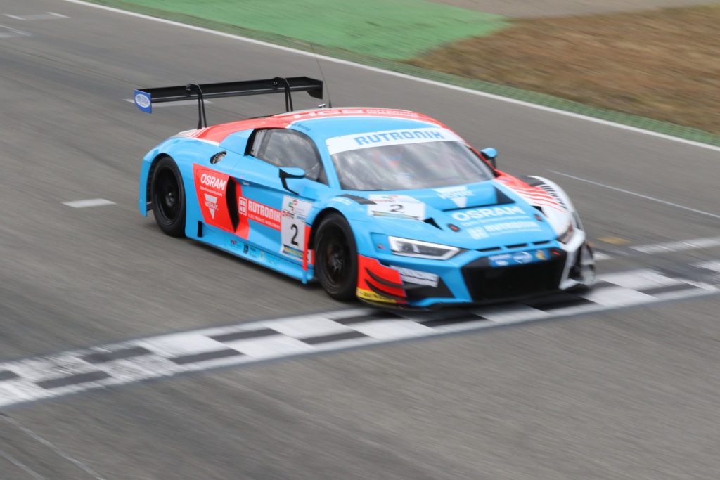 Dennis Marschall Tommy Tulpe HCB-Rutronik Racing Audi R8 LMS Dunlop60 Hockenheim