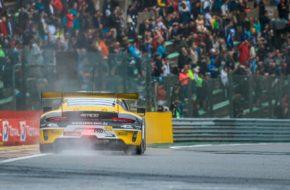 Frédéric Makowiecki Patrick Pilet Nick Tandy ROWE Racing Porsche 911 GT3 R Blancpain GT Series Endurance Cup 24h Spa
