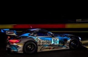 Nico Bastian Timur Boguslavskiy Felipe Fraga AKKA ASP Mercedes AMG GT3 Blancpain GT Series 24h Spa