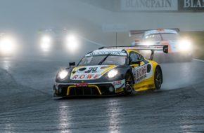 Sven Müller Romain Dumas Mathieu Jaminet ROWE Racing Porsche 911 GT3 R Blancpain GT Series Endurance Cup 24h Spa